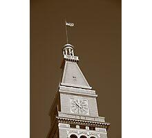 Historic D & F Clocktower - Denver Photographic Print