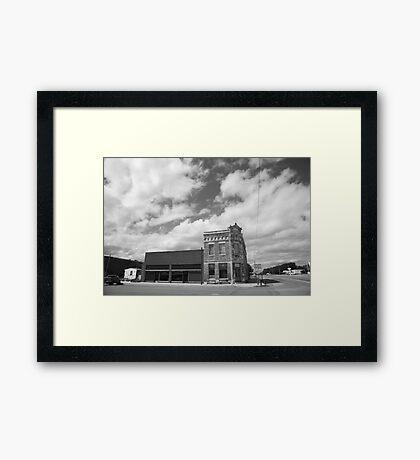 Erick, OK - Sheb Wooley Avenue Framed Print