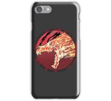 Flaming Howl High Res Version iPhone Case/Skin