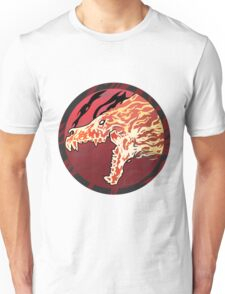 Flaming Howl High Res Version Unisex T-Shirt