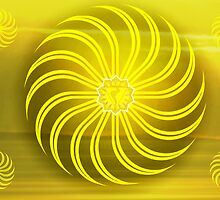 Solar Plexus ~ Yellow ~ Manipura ~ Female by Julia Harwood