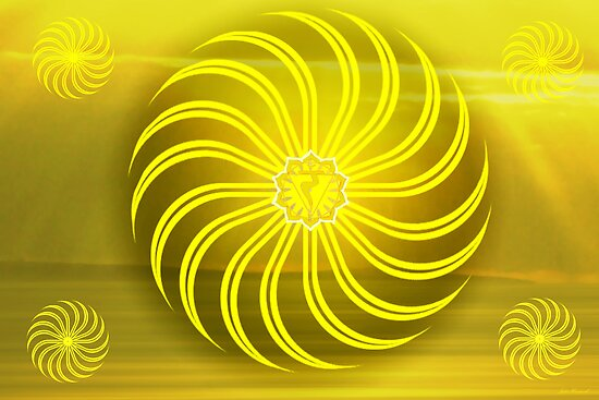 Solar Plexus ~ Yellow ~ Manipura ~ Female by Julia Harwood
