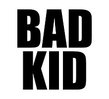 Bad Kid Photographic Print