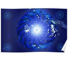 Third Eye Chakra ~ Indigo ~ Ajna ~ Male Poster