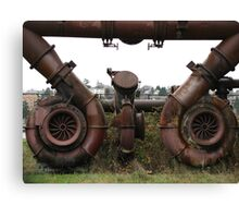 Gasworks Steampunk Art Canvas Print