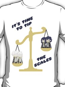 Derp Emblem: Tip the Scales Shirt T-Shirt