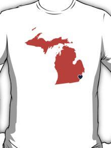 Home Sweet Detroit T-Shirt