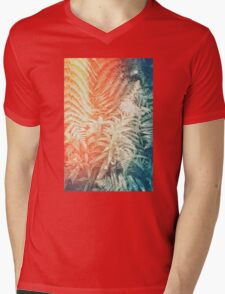 Fearn and Fireweed 02 - Retro Mens V-Neck T-Shirt