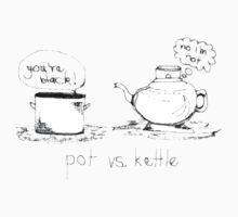 Pot vs. Kettle by petejsmith