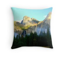 """Misty Valley"" Throw Pillow"