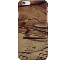 Reading The Classics The Classic Way iPhone Case/Skin