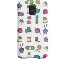 Balls of Yarn - Knitting Watercolor Samsung Galaxy Case/Skin