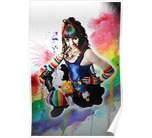A Dak Rainbow Brite - Kalli McCandless Poster