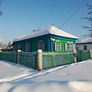 Old Siberian House by Olga Zvereva