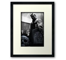 Mad Scientist Rat Poison - Jason Collier Framed Print