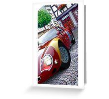 Alfa Romeo HDRI from GT5 Greeting Card