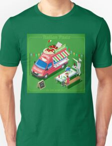 Italian Pasta Food Truck T-Shirt