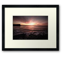Hint Of Day - Avalon Beach, Sydney - The HDR Experience Framed Print