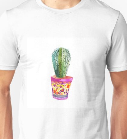 Cactus Watercolour  T-Shirt