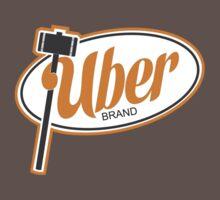 Uber Brand Logo by huckblade