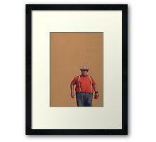 Big Guy Framed Print