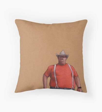 Big Guy Throw Pillow
