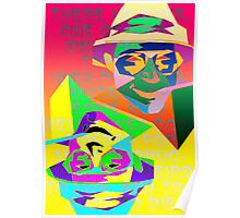 Psychedelic Fear and Loathing Poster