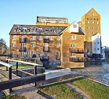 Coxes Lock Mill Building by acolleau