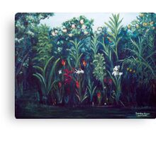 My Garden Canvas Print