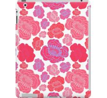 Beautiful pink and red flowers. iPad Case/Skin
