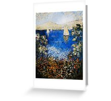 ACROSS THE DERWENT Greeting Card