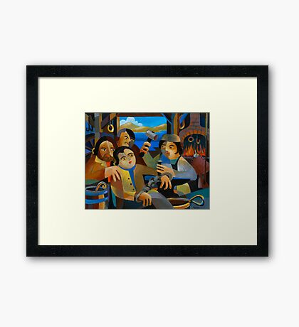 THE RELEASE OF MATTHEW BRADY Framed Print