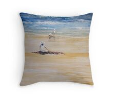 TASMANIAN SUMMER Throw Pillow