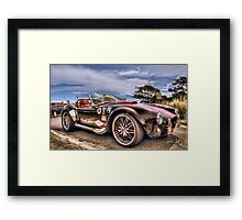 Shelby in HDR Framed Print