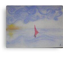 Windsurfer Canvas Print