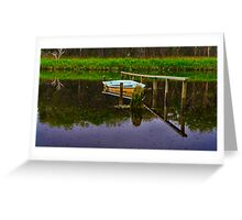 """Floodtide Reflections"" Greeting Card"