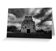 Donnington Castle Ruins Greeting Card