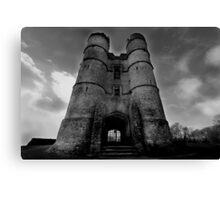 The Gate House - Donnington Castle Canvas Print