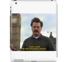 Ron Swanson Hates Europe iPad Case/Skin
