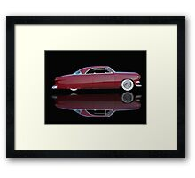 1951 Ford Custom Victoria 'Reflections' Framed Print
