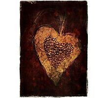 Grunge Valentine Photographic Print