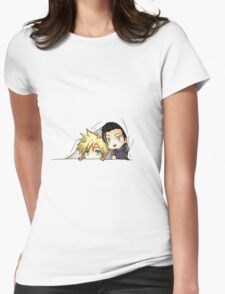 Zack and Cloud Womens Fitted T-Shirt
