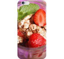 strawberry dessert iPhone Case/Skin