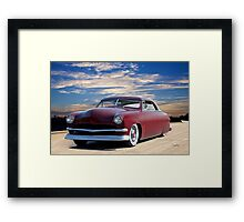 1951 Ford Custom Victoria IV Framed Print