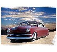 1951 Ford Custom Victoria IV Poster