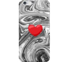 Heart on Marble iPhone Case/Skin