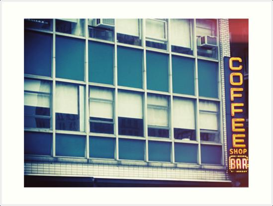 Coffee Shop — New York by Ashlee Betteridge