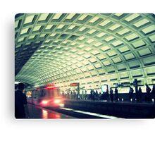 DC Metro Canvas Print