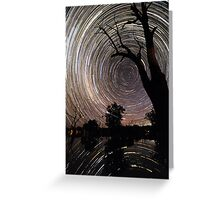 Poocher startrails Greeting Card