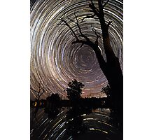 Poocher startrails Photographic Print